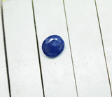 4.79 Ct IGI Certified Unheated Untreated Round  Burma Blue Sapphire