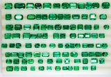 58.61 Ct / 102 Pcs Fine Natural Emerald Mix Zambia Wholesale Parcel LooseGem Stone