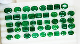 73.255 Ct  Fine Natural Emerald Mix Zambia Wholesale Parcel LooseGem Stone