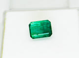7.64 Ct Fine Natural Emerald Octagon Zambia UnTreated LooseGem Stone