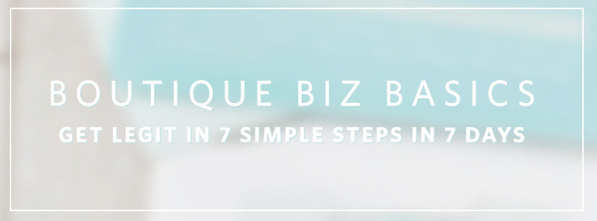 Boutique Business Basics