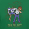Bob Ross Dab All Day Graphic T-shirt