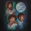 "Bob Ross Officially Licensed ""3 Bob Ross Moon"" T-shirt"