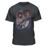"Bob Ross ""80s Photo"" Official Licensed Graphic T-Shirt  for Men and Women"