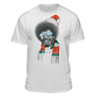 Bob Ross Christmas Scarf Graphic T-shirt
