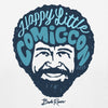 Bob Ross Happy Little Comic Con 2019 T-Shirt