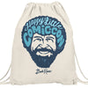 Bob Ross Happy Little Comic Con 2019 Drawstring Bag
