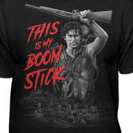 Army of Darkness This is My Boomstick Evil Dead Scene T-Shirt