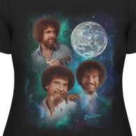 Women's - Bob Ross Official Moon T-Shirt