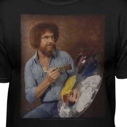 Bob Ross Classic Portrait Licensed T-Shirt