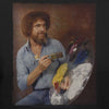 Bob Ross Classic Portrait Graphic T-shirt