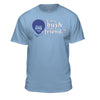 "Bob Ross Retro ""Every Bush Needs a Friend"" - 100% Authentic - Men-Women-Kids"