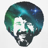 Bob Ross The Joy of Painting Official Galaxy Face T-shirt for Men and Women