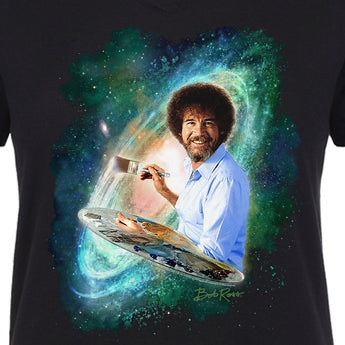 Women's - Bob Ross Galaxy - V-neck