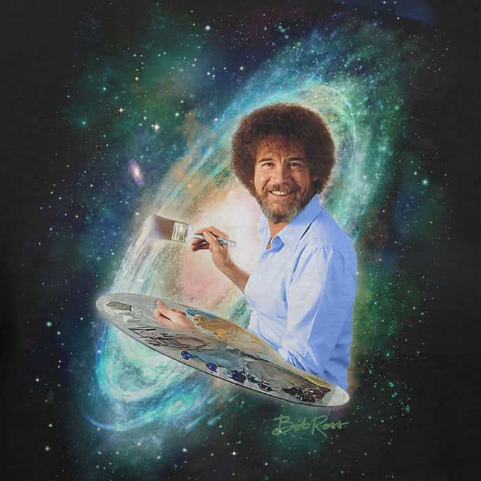 Bob Ross - Galaxy - T-shirt | Authentic Bob Ross Licensed