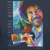 Bob Ross All Colors Matter Geometric Painting T-shirt