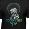 "Bob Ross Retro ""Good Vibes Only"" - 100% Authentic - Men-Women-Kids"
