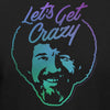 "Bob Ross Retro ""Let's Get Crazy"" - 100% Authentic - Men-Women-Kids"