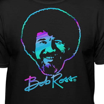 Bob Ross Retro Style T-Shirt (Men, Women and Youth)
