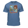 Bob Ross Retro Painting Tshirt - 100% Authentic - Men-Women-Kids