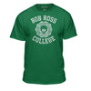 "Bob Ross ""College"" Life Officially Licensed Graphic T-Shirt  for Men and Women"