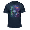 "Bob Ross ""Space Galaxy"" 100% Authentic - Graphic T-Shirt for Men - Women"