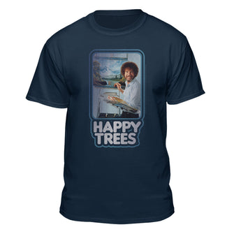 Bob Ross Happy Trees Graphic T-shirt