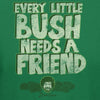 Bob Ross Every Little Bush Needs A Friend Graphic T-shirt