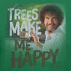 Bob Ross Trees Make Me Happy Graphic T-shirt