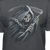 GrimReaper In Chains With-Scythe-Exile T-Shirt