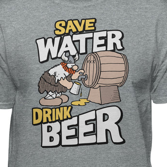Hagar The Horrible Save Water Drink B33r T-Shirt