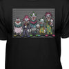 Killer Klowns From Outer Space Lineup Cult Horror T-Shirt
