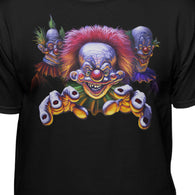 Killer Klowns From Outer Space Official Cult Grab Horror Adult T-Shirt