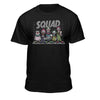 Killer Klowns From Outer Space Official Cult Squad Lineup Premium Fitted T-Shirt