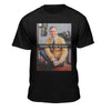 Mister Rogers Kickin' It Old School Men's Black Short Sleeve Premium Fitted T-shirt