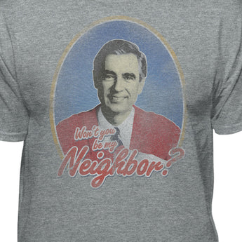 Mister Rogers Won't You Be My Neighbor Men's Vintage T-shirt