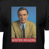 Mister Rogers Red Bar T-shirt