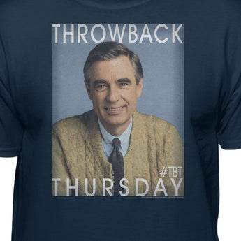 Mister Rogers Neighborhood Throwback Thursday Official Licensed T-Shirt