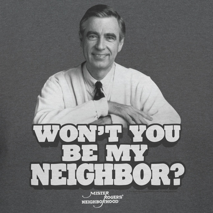 Mister Rogers Won't You Be My Neighbor Official Licensed T-shirt