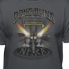 "NHRA Official ""Don't Blink Or You'll Miss The Race"" T-Shirt"