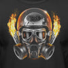 NHRA- Official Drag Racing Men's Helmet T-Shirt