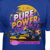 "NHRA Official ""Pure Power"" 80s Style T-Shirt"