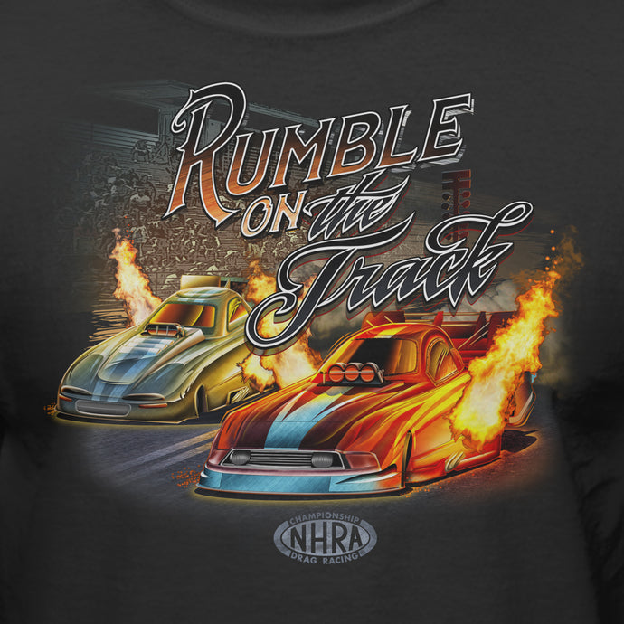 NHRA Rumble On The Track Official T-Shirt