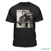 Abe Lincoln Drop Beats Not Bombs Boom Box T-Shirt