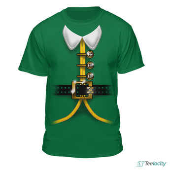 Elf Christmas Costume T-Shirt
