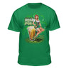 Pin up Lucky Leah's Irish Pub St. Patrick's Day Tshirt
