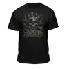 Natural High Smoking 420 Skull T-shirt