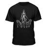 Pin up Holding 3 Rottweilers T-shirt