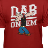Popeye The Sailor Man Dab On Em Men's T-Shirt