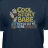 Popeye The Sailor Man Cool Story Babe Official White T-Shirt